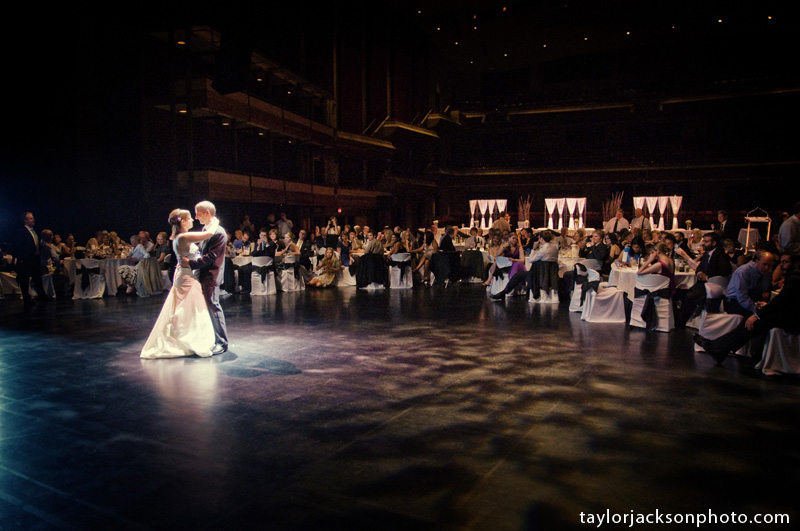 First dance at Centre in the Square