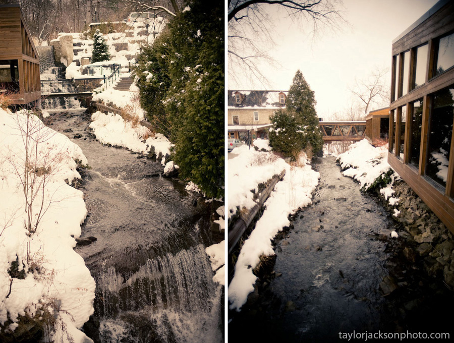Ancaster Old Mill, Ancaster Ontario, Winter