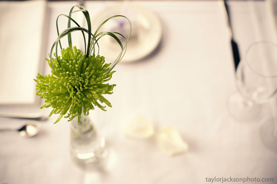 table decorations Fallsview Room, Ancaster Old MIll