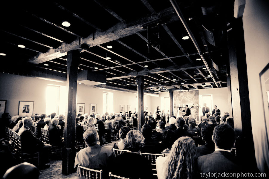Wedding Ceremony in the Governors Room, Old Mill, Ancaster