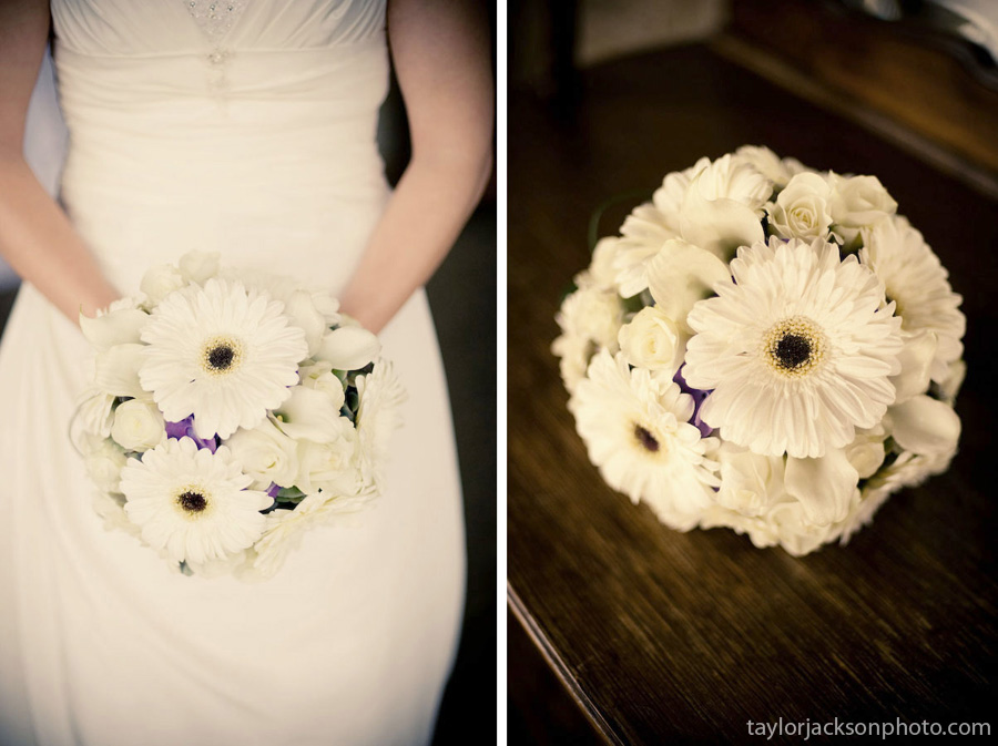 Wedding flowers, gerbera daisy