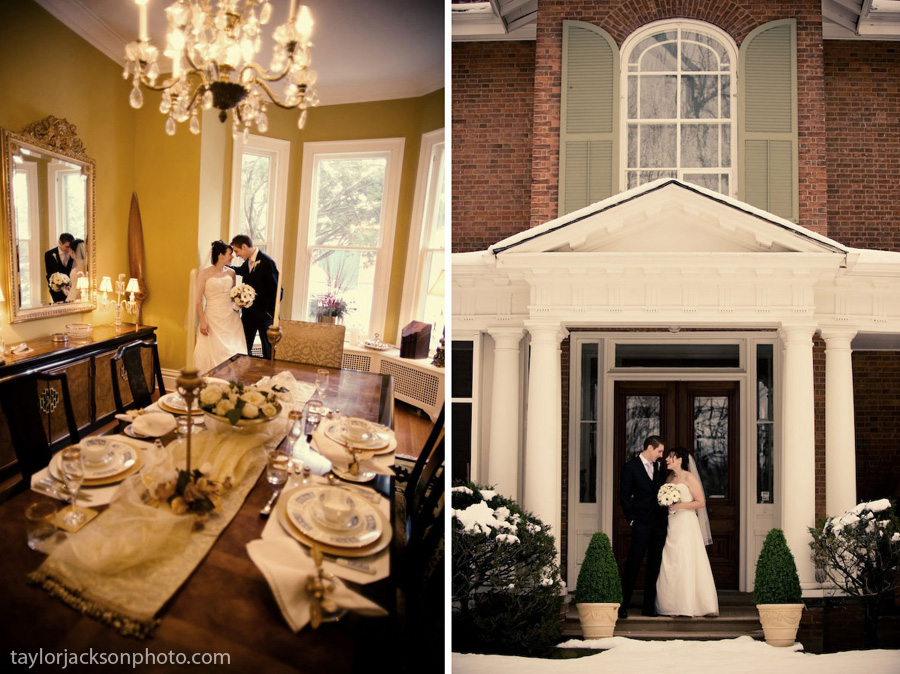 Osler House Bed and Breakfast Dundas Ontario Wedding