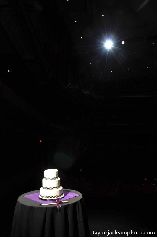Wedding cake at Centre in the Square Kitchener Ontario