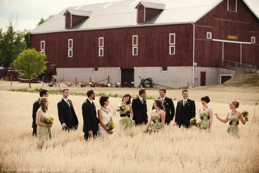 Heritage park milton wedding whitney and jesse 187 kitchener wedding