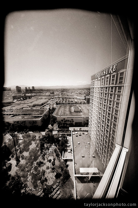 35mm BW film Las Vegas