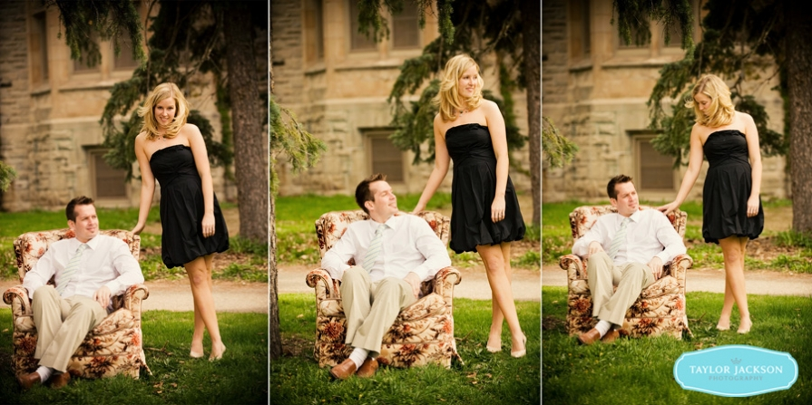 Engagement Photo University of Guelph
