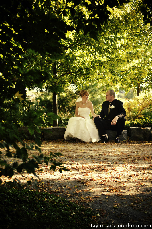 Waterloo Park September Wedding